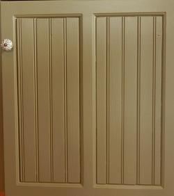 Bead Board Doors & Design Details